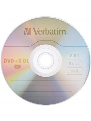 Verbatim DVD+R Dual Layer 8.5GB 10 Τεμάχια