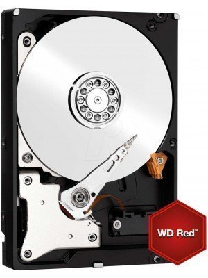 "Western Digital HDD WD40EFRX 4TB 3.5"" 64MB SATA3 Red"