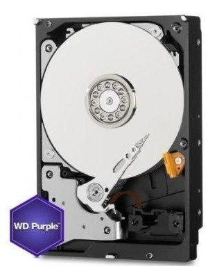 "Western Digital HDD 2TB 3.5"" 64MB SATA3 Purple"