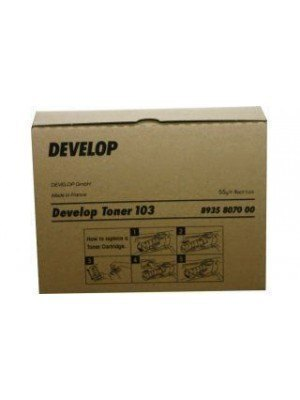 Develop TN-103 Original Toner Black 4 Τεμ.