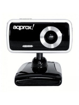 Aqprox Web Camera 1.3MP Μαύρη