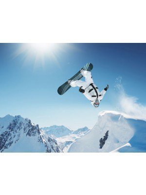 Poster Snowboard 80x60cm