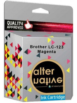 Alternative Brother LC-123 Μελάνι Magenta