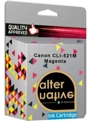 Alternative Canon CLI-521M Μελάνι Magenta 2935B001