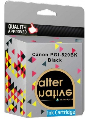 Alternative Canon PGI-520BK Μελάνι Black 2932B001