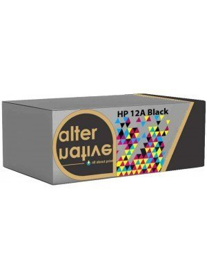 Alternative HP 12A Q2612A Toner Black