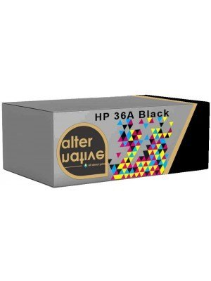 Alternative HP 36A Toner Black CB436A