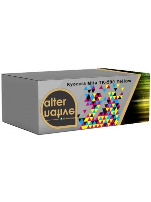 Alternative Kyocera Mita TK-590Y Toner Yellow 1T02KVANL0