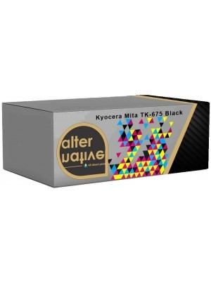 Alternative Kyocera Mita TK-675 Toner Black 1T02H00EU0
