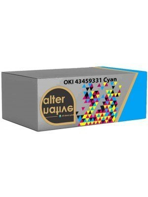 Alternative OKI 43459331 Toner Cyan
