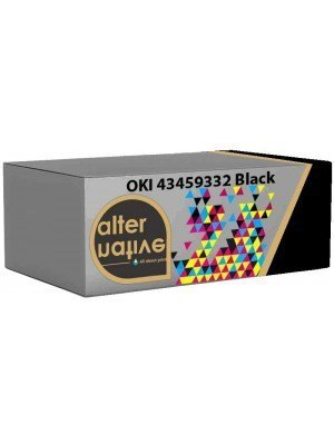 Alternative OKI 43459332 Toner Black