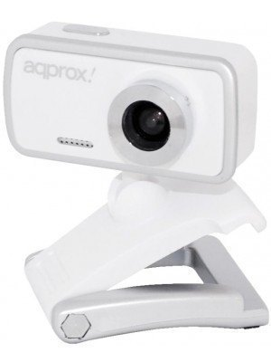 Aqprox Web Camera 1.3MP Λευκή