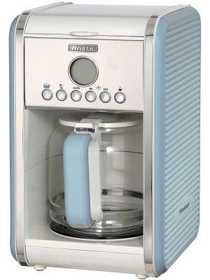 Ariete Καφετιέρα Vintage Coffee Maker 900W Light Blue