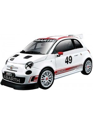 Bburago Race Abarth 500 Assetto 1/24