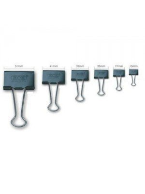 Binder Clips Πιάστρες 19mm