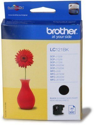 Brother LC-121 (LC-121BK) Original Μελάνι Black