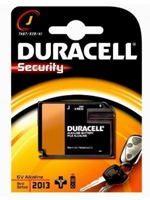 Duracell Security 6.2V Αλκαλική Μπαταρία L4LR61 1Τεμ.