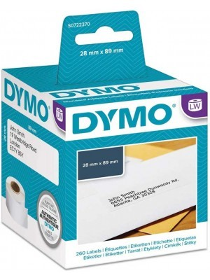 Dymo 99010 Ετικέτες Ταχυδρομικών Αποστολών 28/89mm Λευκές 2 Τεμάχια