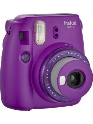 Fujifilm Instax Mini 9 Instant Camera Clear Purple