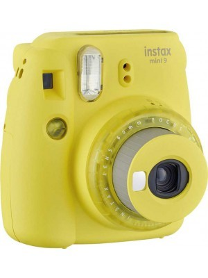 Fujifilm Instax Mini 9 Instant Camera Clear Yellow