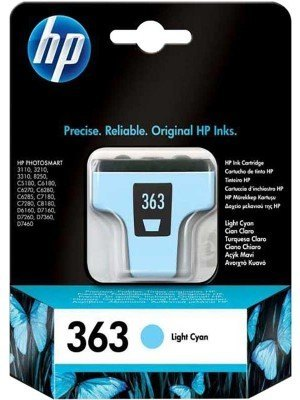 HP 363 Μελάνι Light Cyan C8774EE