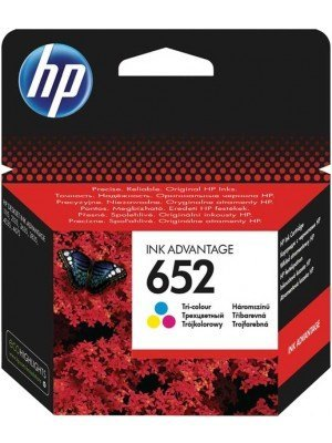 HP 652 Mελάνι Tri-Colour F6V24AE