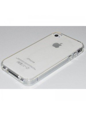 all about print Θήκη iPhone 4 Διαφανές Σαν Γυαλί