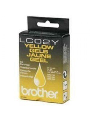 Brother LC-02Y Original Μελάνι Yellow