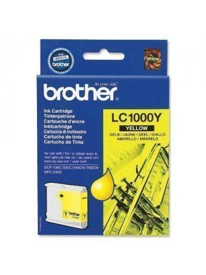 Brother LC-1000Y Original Μελάνι Yellow