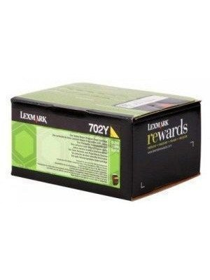 Lexmark 70C20Y0 Original Toner Yellow