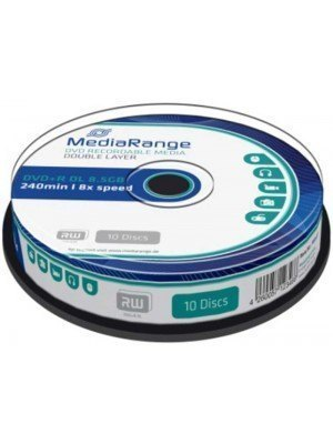 MediaRange DVD+R Dual Layer 8.5GB 8x Cake Box 10 Τεμάχια