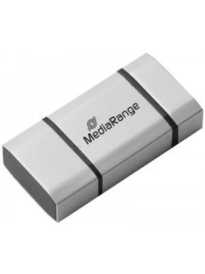 MediaRange USB 3.0 8GB OTG 2 in 1 Γκρι MR930