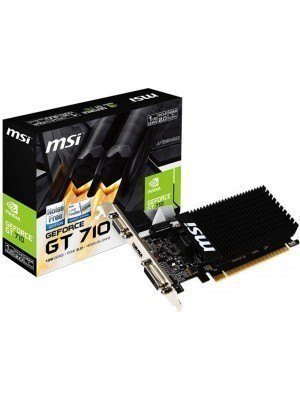 MSI NVidia GeForce GT710 1GB DDR3 Passive LP