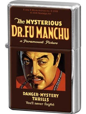 Nostalgic Αναπτήρας Movie Art Dr. Fu Manchu