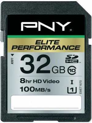 PNY SD 32GB Elite Performance 100MB/s