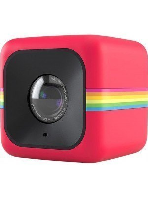 Polaroid Cube+ Action Camera HD WiFi Κόκκινο