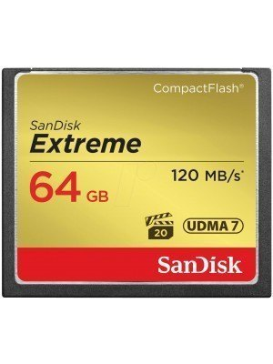 SanDisk Compact Flash Extreme 64GB 120MB/s