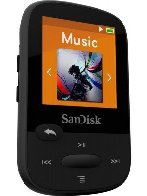 SanDisk Sansa Clip Sport Plus 16GB Black