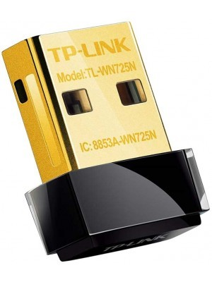 TP-Link TL-WN725N v3 Wireless N Nano USB Adapter