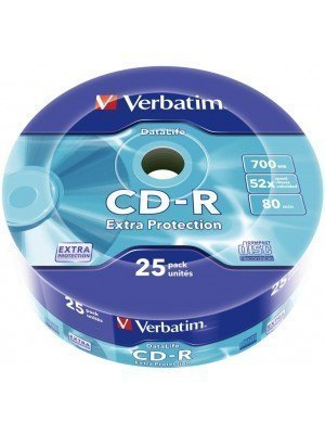 Verbatim CD-R 700MB 25 Τεμάχια