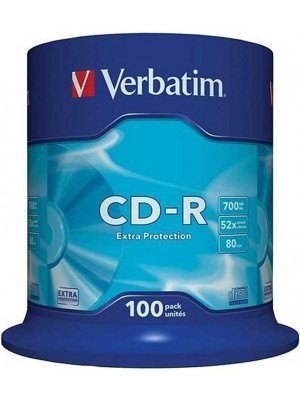 Verbatim CD-R Extra Protection 700MB CakeBox 100 Τεμάχια