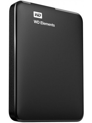 Western Digital Elements 1TB External HDD USB 3.0 Portable
