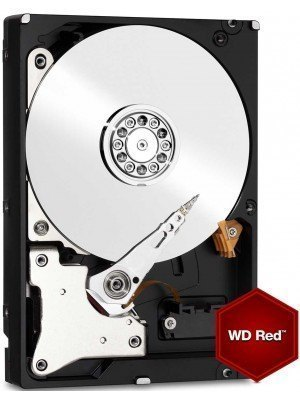 "Western Digital HDD WD30EFRX 3TB 3.5"" 64MB SATA3 Red"